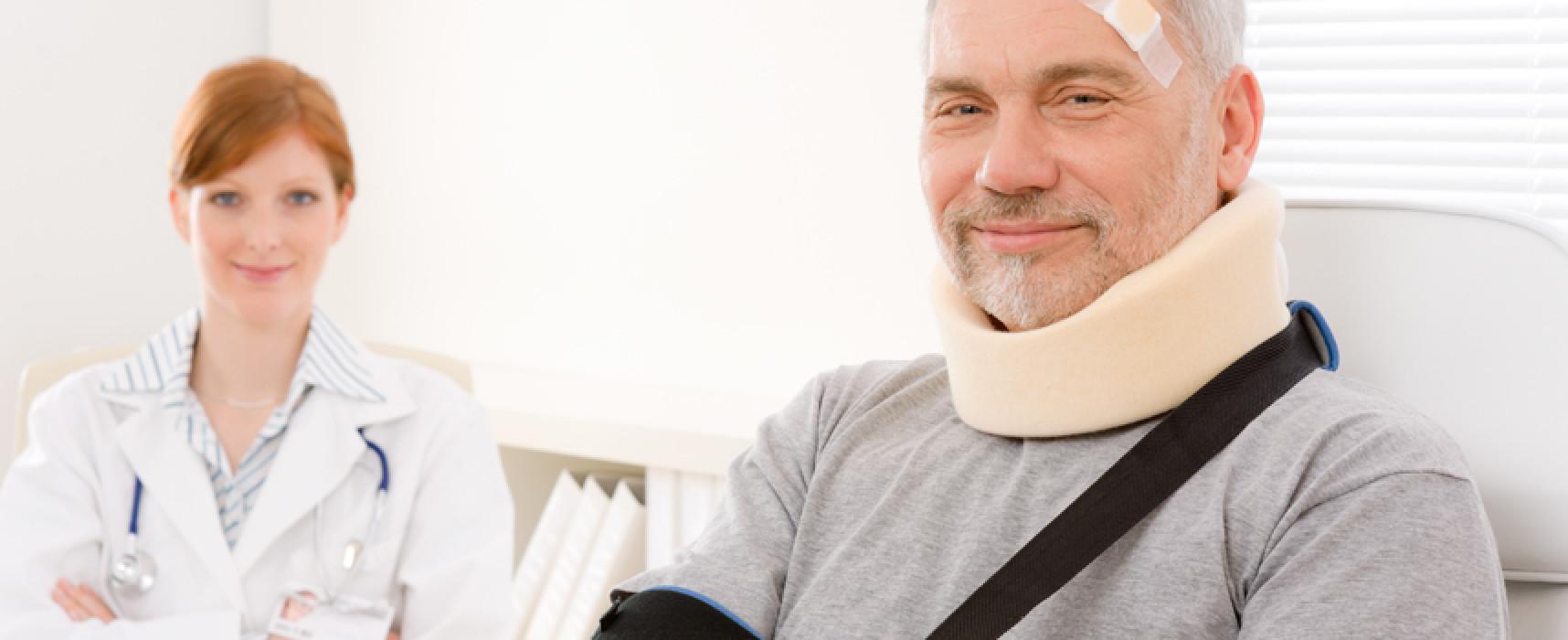 Травма на производстве – оплата больничного