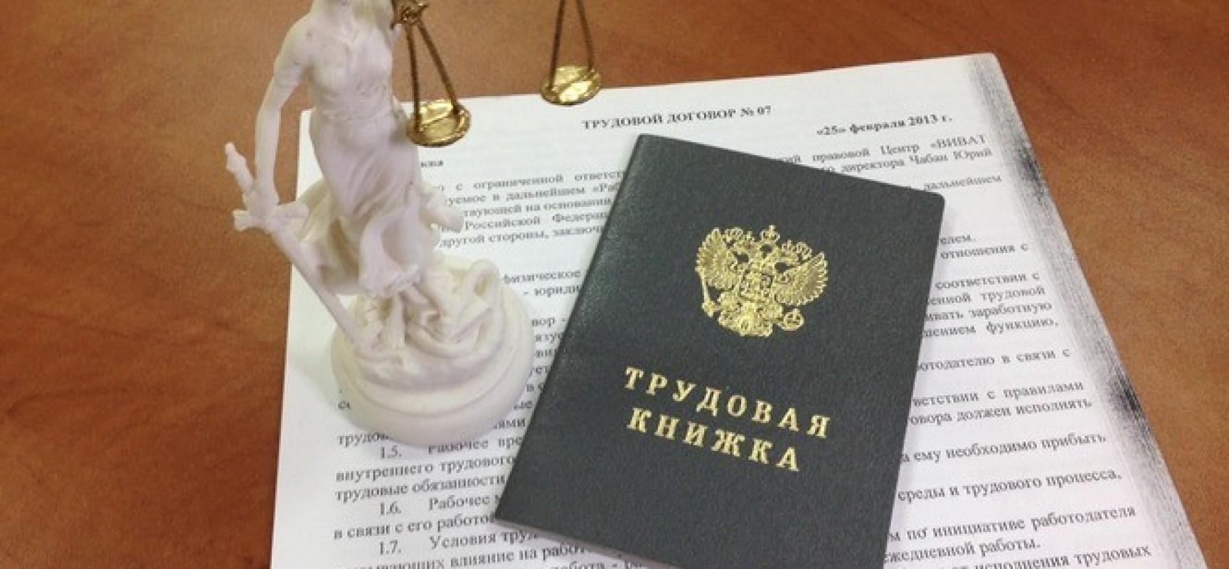 Из чего состоит система трудового права в России?